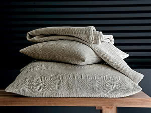 Купить декоративную подушку Blanc des Vosges Donegal Lin