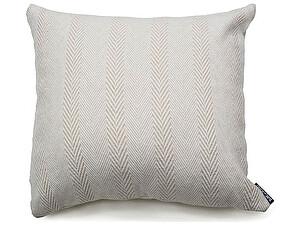 Купить декоративную подушку Blanc des Vosges Chevrons Naturel