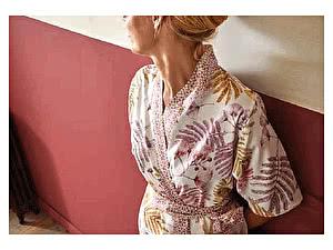 Купить халат Blanc des Vosges Sous Bois Rose