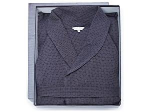 Купить халат Leitner Helix, серо-синий