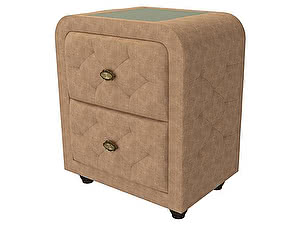 Купить тумбу Орма - Мебель Flavio  (экокожа цвета люкс и ткань)
