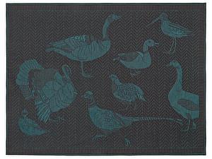 Купить полотенце Leitner Hestia бирюзовое 50х70 см