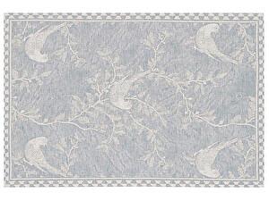 Купить полотенце Leitner Vogel голубое 50х70 см
