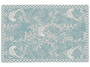 Купить полотенце Leitner Vogel бирюзовое 50х70 см