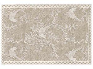 Купить полотенце Leitner Vogel коричневое 50х70 см