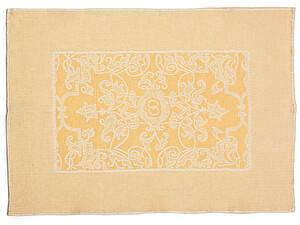 Купить полотенце Leitner Mariage желтое 50х70 см