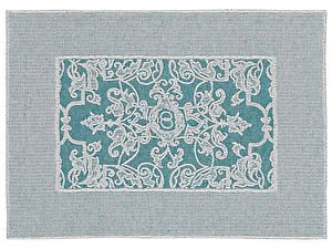 Купить полотенце Leitner Mariage бирюзовое 50х70 см