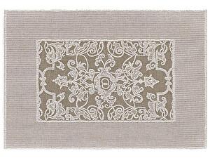 Купить полотенце Leitner Mariage коричневое 50х70 см