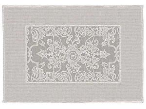 Купить полотенце Leitner Mariage серое 50х70 см