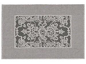 Купить полотенце Leitner Mariage темно-серое 50х70 см