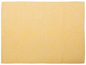 Купить полотенце Leitner Bankenwerk желтое 50х70 см