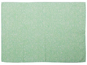Купить полотенце Leitner Bankenwerk зеленое 50х70 см