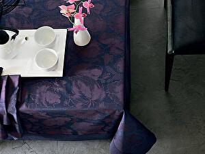 Купить скатерть Blanc des Vosges Flora, фиолетовая