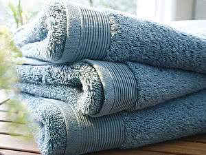 Купить полотенце Blanc des Vosges Uni Celadon