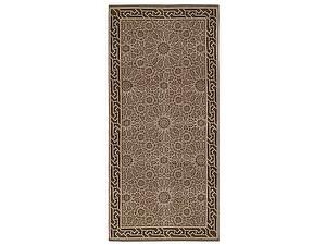 Купить полотенце Leitner Arabesque бежево-коричневое
