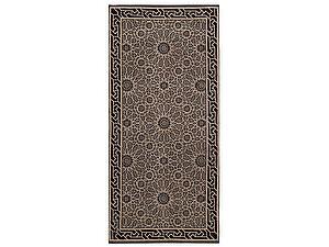 Купить полотенце Leitner Arabesque черно-бежевое