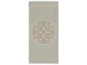 Купить полотенце Leitner Rosetta бледно-бирюзовое