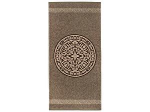 Купить полотенце Leitner Rosetta бежево-коричневое