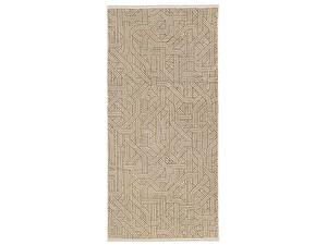 Купить полотенце Leitner Confusion бежево-сливочное