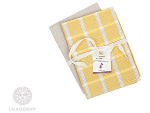 Купить полотенце Luxberry Kitchen Line желтый/натуральный