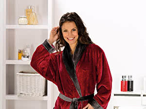 Купить халат Goezze Seiden Feeling Rot