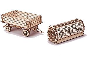 Купить конструктор Wood Trick Прицепы для трактора