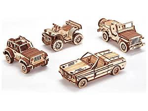 Купить конструктор Wood Trick Набор машинок