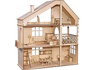 Купить конструктор ХэппиДом Гранд коттедж с верандой и мебелью