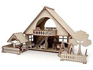 Купить конструктор ХэппиДом Летний дом с беседкой и качелями