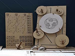 Купить конструктор Uniwood Машина для рисования Unigraph