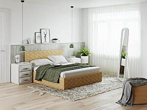 Купить кровать Орма - Мебель Quadro (ткань Diva)