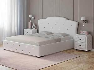 Купить кровать Орма - Мебель Orfeo (экокожа люкс и ткань)