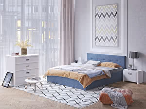 Купить кровать Орма - Мебель Vita (ткань Savana)