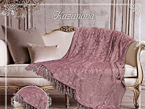 Купить плед KAZANOV.A. Виндзор, марсала 160х210