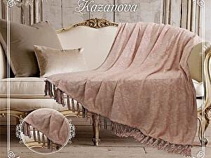Купить плед KAZANOV.A. Феличе, розовая пудра 160х210