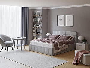 Купить кровать Орма - Мебель Puzzle (ткань комфорт)