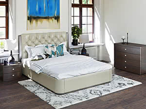 Купить кровать Орма - Мебель Monaco с ПМ (бук)