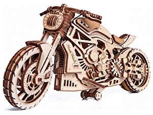 Купить конструктор Wood Trick Мотоцикл DMS