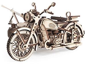Купить конструктор Lemmo Мотоцикл Уран с коляской, арт. 01-59
