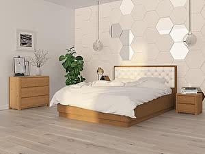 Купить кровать Орма - Мебель Wood Home 3 с подъемным механизмом 200х200