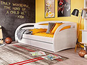 Купить кровать Sleepline (мебель) Dongo, выбеленный дуб