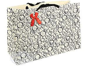 Купить  Vogue international pte, ltd Широкий подарочный пакет с буквами