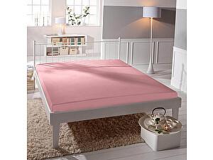 Купить простынь Curt Bauer Uni-Mako-Satin 260х270 см, розовый
