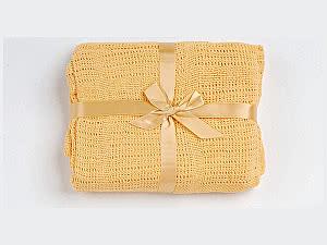 Детское одеяло ОТК вязаное, 90х120