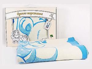 Детское одеяло ОТК из шерсти, 100х140