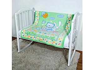 Купить одеяло ОТК Мишка на лужайке