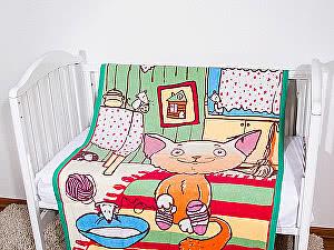 Купить одеяло ОТК Кот на кухне