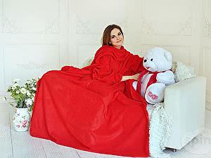 Купить плед Sleepline* красный с рукавами