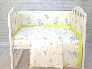 Детское постельное белье ОТК Зайки