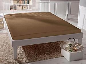 Купить простынь Curt Bauer Uni-Mako-Satin 260х270 см, коричневый